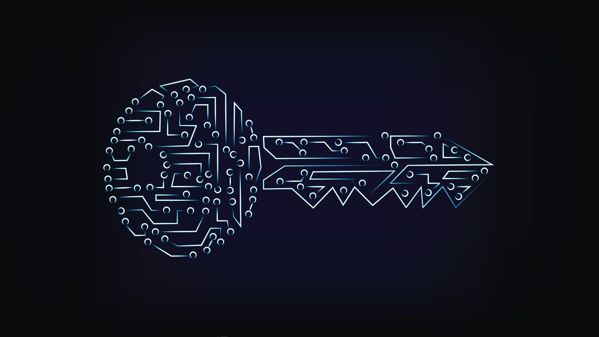 Chiavetta USB crittografata con tastiera